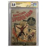 Spiderman #1 CGC Signature Series 2.0.