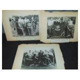 College Football 1935 All American Photos.