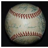 1953 Brooklyn Dodgers N.L. Championship Ball.