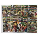 Captain America & Iron Man. (57) Issues.