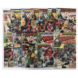 200+ Marvel and DC Comics.