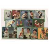 1964 Auravision Baseball Records Near Set 15/16