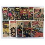 Golden Age Lot of 40 Comics
