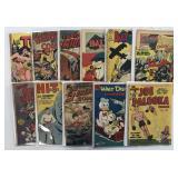 Golden Age Lot of 92 Comics, 2 Boxes