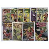 DC Silver Age Lot, Mystery in Space, Superboy,
