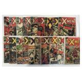 X-Men Silver Age to Copper Age Comic Lot