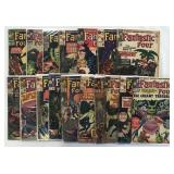 Fantastic Four & Incredible Hulk Comic Lot