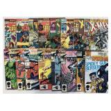 5 Long Comic Boxes