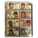 1955 Topps Baseball Card Set.