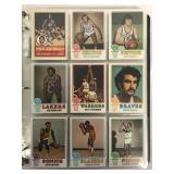 1973 Topps Basketball Set.