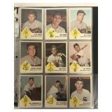 1963 Fleer Baseball Card Set.