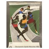 Jacob Lawrence, Olympic Games Munich 1972 Poster