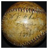 Signed Baseball 1930 World Series