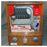J.F. Franz Kicker and Catcher Coin Op.