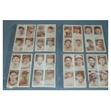 1938 4-In-1 Exhibit Cards.