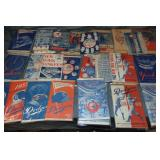 Large Lot of Yankees and Dodgers Programs.