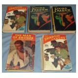 The Shadow Hard Cover book Lot.