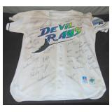 Circa 1998 Tampa Bay Devil Rays Signed