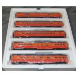 Boxed MTH Southern Pacific 5 Car Passenger Set