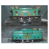 Clean Lionel 252 & 253 Electric Locomotives