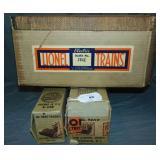 Scarce Lionel EMPTY Boxes & Master for 260E Loco