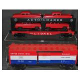 Lionel 6414 & 6428 Late Freight Cars