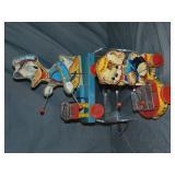 2 Black Label Fischer Price Toys