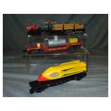 4 American Flyer 5-Digit Freight Cars