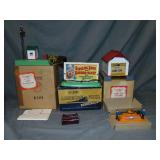 3 Boxed American Flyer Accessories