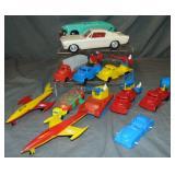 Large Plastic Vehicle Lot