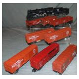 9Pc American Flyer 293 Freight Set