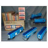Super Boxed Lionel Blue Comet Set 194W