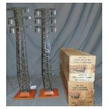 2 Boxed Early lionel 94 High Tension Towers