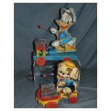 2 Black Label Fisher Price Toys