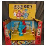 Boxed Marx Rockem Sockem Robots