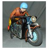 Battery Operated Atom Motorcycle Toy, Japan
