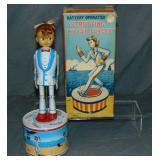 Boxed Battery Op Strutting My Fair Dancer, Haji