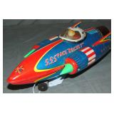 Battery Operated S.S. Space Rocket, KO Japan