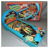 1978 Superman Spinball Pinball Game in Orig Box