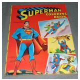 1955 Superman Coloring Book, Saalfield 4687-25
