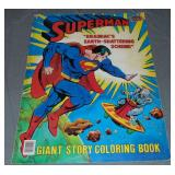 1984 Giant Superman Story Coloring Book