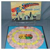 Superman Speed Game, Milton Bradley, 1940