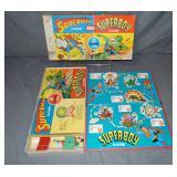 Superman & Superboy Board Game, MB 1967