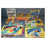 Superman Related Board Games, Puzzles, & More