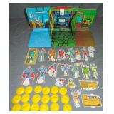 1973 Ideal Superman Vinly Playset Carry Case