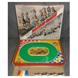 Boxed Battery Operated Racing Game, TN Japan