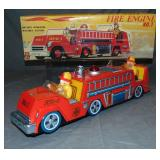 Boxed Battery Op Fire Engine No.1, TM Japan