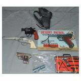 Assorted Lot of Toy Cap Guns