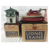 Boxed Lionel 342 & 445 Accessories