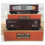 Mint Boxed Lionel 6464-375 And 200 Boxcars
